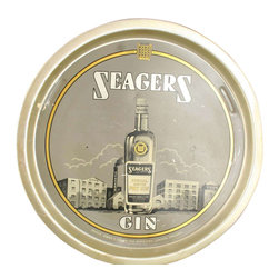 Seagers Gin - Consigned Vintage Barware Seagers Gin Advertising - Product Details
