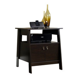 Sauder - Sauder Stockbridge Technology Pier in Jamocha Wood - Sauder - Printer Stands - 410911 - Sure, lots of office and home furnishing manufacturers can help you create an organized, comfortable and fashionable place to live. But Sauder provides a special kind of furniture that is practical and affordable, as well as attractive and enduring. As North America's leading producer of ready-to-assemble furniture, we offer more than 500 items that have won national design awards and generated thousands of letters of gratitude from satisfied consumers.