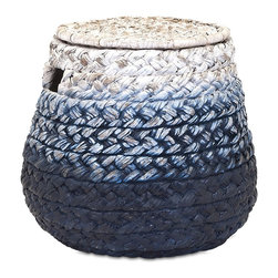 iMax Corporation - Cascade Woven Water Hyacinth Basket - Find home furnishings, decor, and accessories from Posh Urban Furnishings. Beautiful, stylish furniture and decor that will brighten your home instantly. Shop modern, traditional, vintage, and world designs.