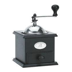 "Peugeot - Peugeot Nicaragua Black Matte Coffee Mill 21cm/8.25"" - Color: Black Matte"