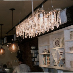 Michael McHale Designs - Mchale Tribeca Banqueting Chandelier in Store - Michael McHale Designs