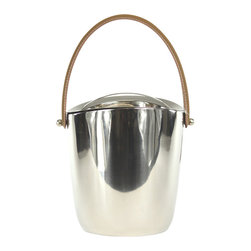 Vanilla Deco Ice Bucket - These striking pieces are quality made and make a beautiful accent to any decor.