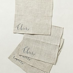 Linea Carta - Cheers Cocktail Napkins - *By Linea Carta