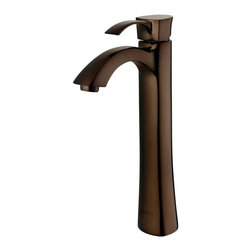 Vigo Industries - Otis Vessel Faucet - Includes mounting hardware, hot and cold waterlines. High quality ceramic disc cartridge ensures maintenance free use. Resist corrosion and tarnishing. Exceeding industry durability standards. Easy single hole installation. Pop-up drain not included. 2.2 GPM flow rate. Water pressure tested for industry standard. Limited lifetime warranty. Made from solid brass. Oil rubbed bronze finish. 20 in. L x 3 in. W x 11.25 in. H. Installation InstructionsThe Otis Vessel Faucet is a statuesque fixture for the individual. Otis is stylish yet unassuming.
