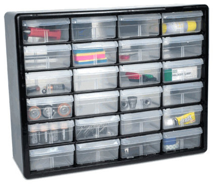 Traditional Garage And Tool Storage by Organize
