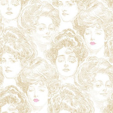 Pucker Up Buttercup Wallpaper design by York Wallcoverings