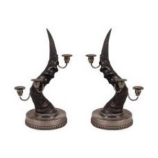 Eclectic Candleholders by Parc Monceau