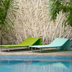 Lebello - Sun Day Outdoor Chaise Lounge - Sun Day is a modern outdoor sun chaise lounger great for those lazy long weekends at the pool or garden. Resistant to pool water, sea salt, and changes in climate.