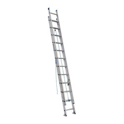 Werner - Werner D1320-2 20 ft. Aluminum Extension Ladder Multicolor - 3720-5242 - Shop for Ladders from Hayneedle.com! Get easy access to out of reach tasks with the Werner D1320-2 20 ft. Aluminum Extension Ladder. This ladder features a durable construction of heavy duty aluminum and a smooth operating pulley system that makes for easy extension. Other features include mar-resistant end caps interlocking 3-inch side rails and slip-resistant 1-inch Traction-Tred D-rungs.About WernerWerner is an industry leader that has manufactured and distributed ladders and climbing equipment for over 60 years. Werner ladders are found on more trucks and job sites than all other brands combined. Each product offers a state-of-the-art design and manufacturing process creating professional-grade products that are made to be utilized in the home as well as on the job site. Werner Co. products are built to meet or exceed all applicable American National Standards Institute (ANSI) and Occupational Safety and Health Administration (OSHA) code requirements.