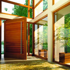 Pivot Doors - Custom made pivot door by Fenstermann.