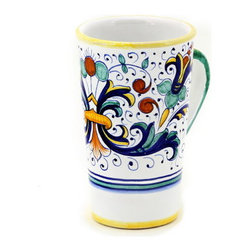 Artistica - Hand Made in Italy - RICCO DERUTA: Tall Mug 16 oz. - RICCO DERUTA: This product is part of the renown Ricco Deruta Collection.