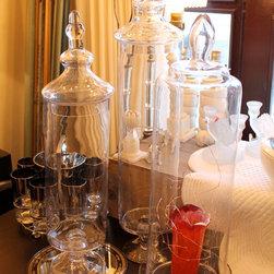 Glass Apothecary Jars -