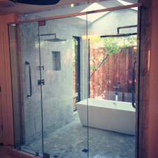 Modern Bathroom by Greenway Renovations and Custom Homes