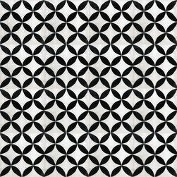 White Citrus Cement Tile - BY AMETHYST ARTISAN