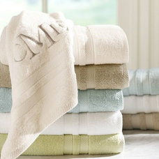 Traditional Bath Towels by Pottery Barn