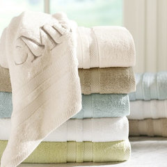 traditional towels by Pottery Barn