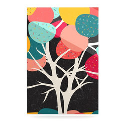 """Kess InHouse - Danny Ivan """"Lovely Tree"""" Branches Metal Luxe Panel (16"""" x 20"""") - Our luxe KESS InHouse art panels are the perfect addition to your super fab living room, dining room, bedroom or bathroom. Heck, we have customers that have them in their sunrooms. These items are the art equivalent to flat screens. They offer a bright splash of color in a sleek and elegant way. They are available in square and rectangle sizes. Comes with a shadow mount for an even sleeker finish. By infusing the dyes of the artwork directly onto specially coated metal panels, the artwork is extremely durable and will showcase the exceptional detail. Use them together to make large art installations or showcase them individually. Our KESS InHouse Art Panels will jump off your walls. We can't wait to see what our interior design savvy clients will come up with next."""