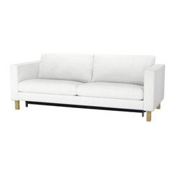 Tord Björklund - KARLSTAD Sofa bed w/storage compartment - Sofa bed w/storage compartment, Blekinge white