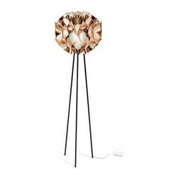 Slamp - Flora Metallic Floor Lamp | Slamp - Design by Zanini De Zanine.