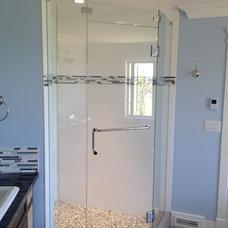 Contemporary Showers by Alto Glass