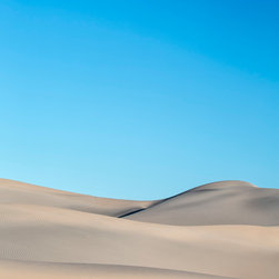Images by Jon Evan - Desert Calm - This desert scene was photographed in Death Valley National Park. It measures 30x45 and is mounted on a hard backing ready to hang. Ships direct from manufacturer.