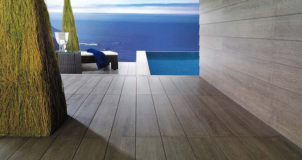 Modern Wall And Floor Tile by Porcelanosa USA