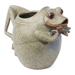 Ceramic Frog Pitcher / Vase - *** FREE SHIPPING!! ***