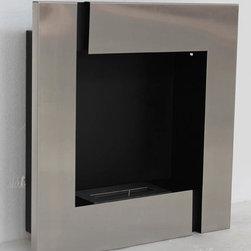 "Tokio - Modern Recessed Ventless Ethanol Fireplaces - "" TOKIO ""  Modern Recessed Ventless Ethanol Fireplace"