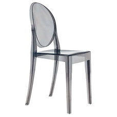 modern dining chairs Kartell Victoria Ghost Chair