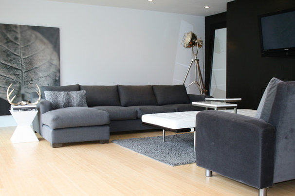 Contemporary Living Room by Ieteke
