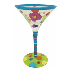 WL - 7 Inch Beach Circles Motif 7 Ounce Martini Style Cocktail Bar Glass - This gorgeous 7 Inch Beach Circles Motif 7 Ounce Martini Style Cocktail Bar Glass has the finest details and highest quality you will find anywhere! 7 Inch Beach Circles Motif 7 Ounce Martini Style Cocktail Bar Glass is truly remarkable.