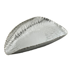 Riado - Scoop Serving Bowl, Small - Our products are handcrafted using high quality materials. Slight variations and imperfections are expected and are the inherent beauty of these items.