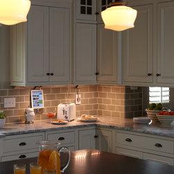 Farmhouse Kitchen & Cabinet Lighting: Find Pendant Lights, Under-Cabinet and Track Lighting Online