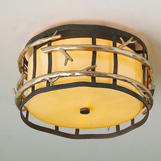 Rustic Ceiling Lighting by Shades of Light
