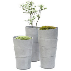 Contemporary Outdoor Planters by Rainer Mutsch