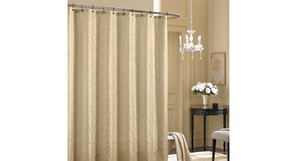 "Bombay® Vivienne 72"" x 72"" Fabric Shower Curtain"