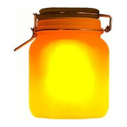 ParrotUncle - Romantic Glass Sun Jar Night Light Gift for Her, Yellow+blue Changing - This light can glow for about 8hrs after put it in a ordinary room for a whole day. It is better to put it under the sun for 1-2 days at the begining,then 6hrs each time will be ok.