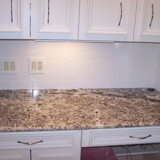 Modern Kitchen Countertops by The Granite Shop