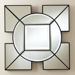 Global Views - Global Views Arabesque Square Mirror - 8.81572 - Shop for Mirrors from Hayneedle.com! About Global ViewsGlobal Views is a provider of quality fashion-driven home furnishings and accents from around the world. Their products range from decorative accents like candelabras and lighting fixtures to benches chairs and tables. High-end home decor magazines such as Elle Decor Metropolitan and Traditional Home have taken notice of the quality and style their products exhibit. Global Views products have also been featured on main-stream TV show sets including Extreme Makeover Home Edition HBO Golden Globe SAG party and the Apprentice. Always environmentally aware all Global Views products are made of natural materials and their packaging is recyclable. Global Views staff members make extra efforts to minimize their carbon imprint by making wise energy choices and promoting recycling programs carpooling and waste reduction programs.Please note: We are unable to ship Global Views products to California.