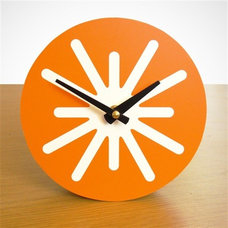 Contemporary Desk And Mantel Clocks by beehiveco-op.com