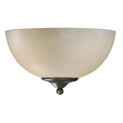 Quorum International - Quorum International 625-11-95 Hemisphere Old World Wall Sconce - Quorum International 625-11-95 Hemisphere Black Wall Sconce