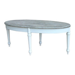 EuroLux Home - New Coffee Table White/Cream Painted - Product Details
