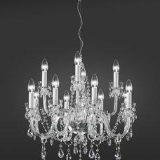 Contemporary Chandeliers by Topdomus by Elettromarket illuminazione