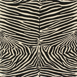 Zebra Safari Natural Fabric - This is a great zebra fabric made of chenille. It would look wonderful on dining room chairs, club chairs or an ottoman. And don't forget about making some hot pillows for the sofa out of it!
