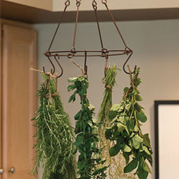 Herb & Flower Drying Kit - Here's a great way to dry those tasty herbs from the garden. Hang them in your kitchen where they will be easy to reach when your cooking a meal.
