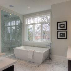 Contemporary Bathroom by Jodie Rosen Design
