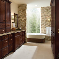 traditional bathroom vanities and sink consoles by KraftMaid