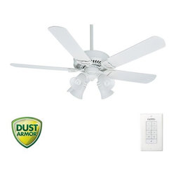 "Casablanca - Casablanca 55058 Panama 54"" 5 Blade Ceiling Fan - Blades and Light Kit Included - Included Components:"