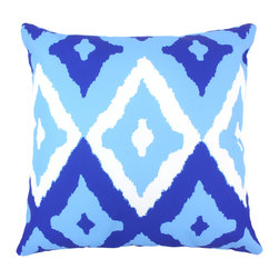 """DD - Del Mar Outdoor Pillow 20"""" x 20"""" - This lovely Del Mar Outdoor Pillow will add fun and flare to your outdoor space."""
