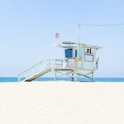 """""""Venice Lifeguard Tower"""" Fine Art Print - © Cardelucci"""